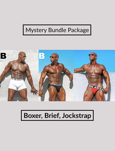 Mystery Bundle Package Boxer, Brief, Jockstrap