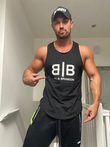 Black Gym Tank Top
