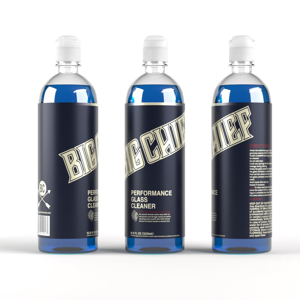 BIG CHIEF Performance Glass Cleaner