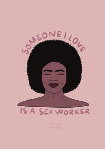 Someone I love is a sex worker - Impression A4