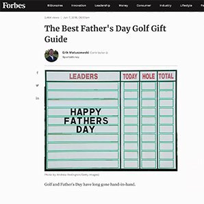 Forbes The Best Father's Day Golf Gift Guide