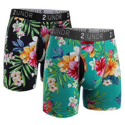 Swing Shift Boxer Brief 2 Pack - Kona - Turks