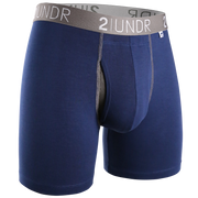 Swing Shift Boxer Brief - Navy/Grey