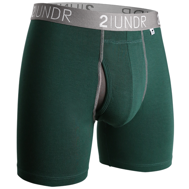 Swing Shift Boxer Brief - Dark Green