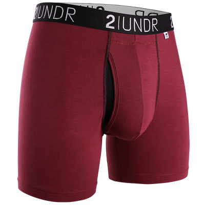 Swing Shift Boxer Brief - Burgundy