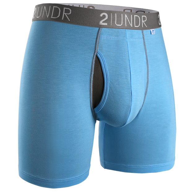 Swing Shift Boxer Brief - Light Blue