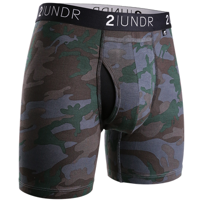 Swing Shift Boxer Brief - Dark Camo