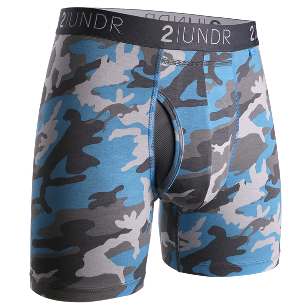 Swing Shift Boxer Brief - Ice Camo