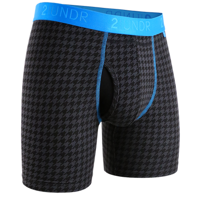 Swing Shift Boxer Brief - Dog Tooth