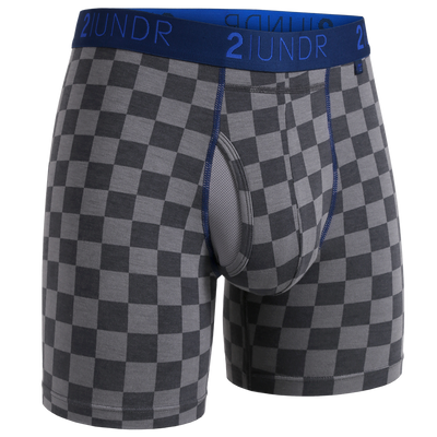 Swing Shift Boxer Brief - Check Mate