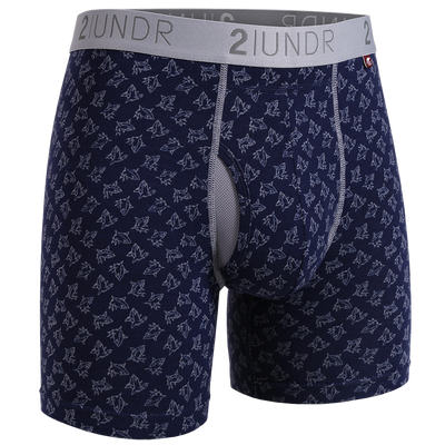 Swing Shift Boxer Brief - Sharks