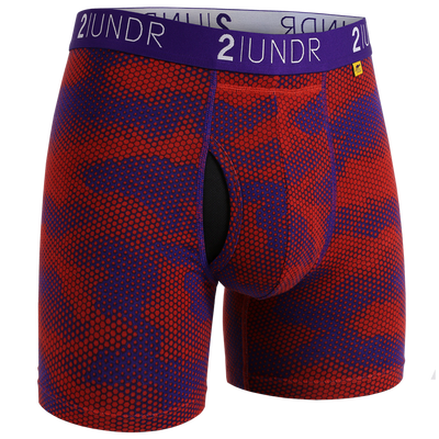 Swing Shift Boxer Brief - Lava