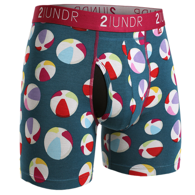 Swing Shift Boxer Brief - Beach Balls