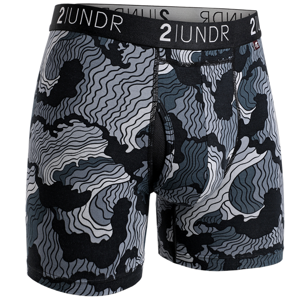 Swing Shift Boxer Brief - Tsunami