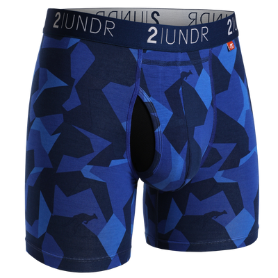Swing Shift Boxer Brief - Blue Camo