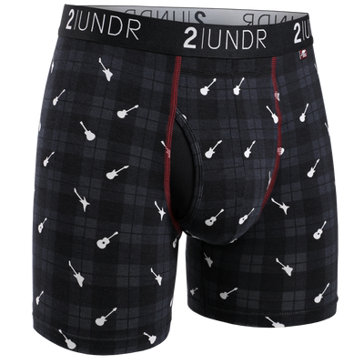 Swing Shift Boxer Brief - Rockin Plaid