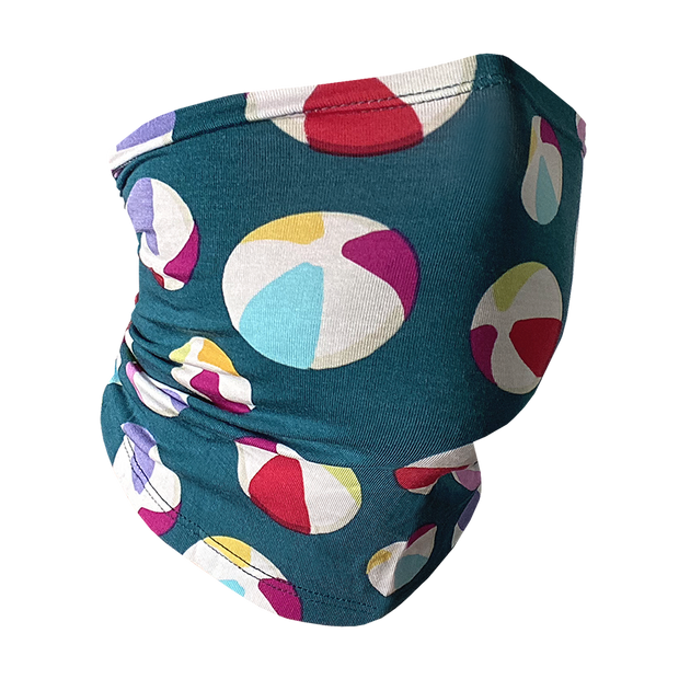 Face/Neck Cover - Beach Balls