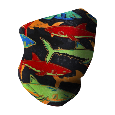 Face/Neck Cover - Shark Fest