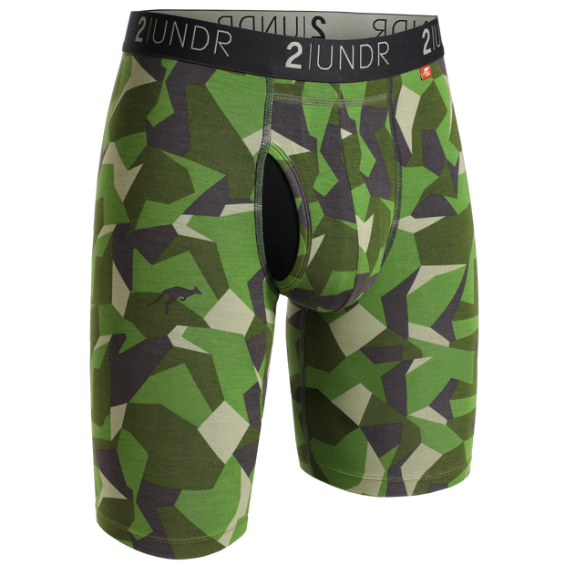 Swing Shift Long Leg - Green Camo
