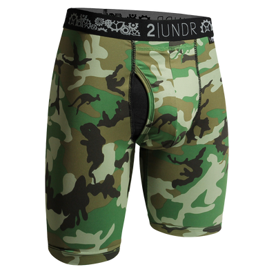 Gear Shift Long Leg - Woodland Camo