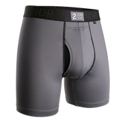 Power Shift Boxer Brief - Cool Grey