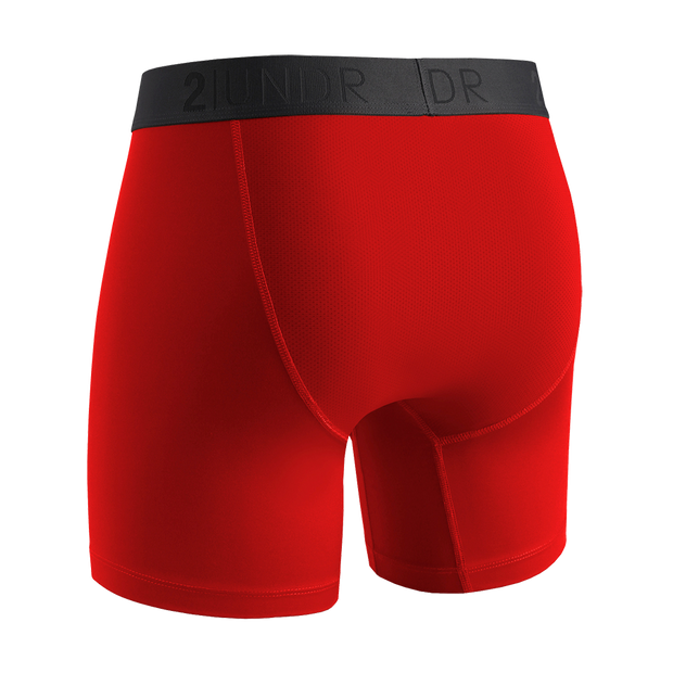 Power Shift Boxer Brief - Crimson