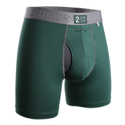 Power Shift Boxer Brief - Dark Green