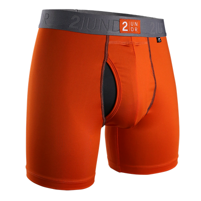 Power Shift Boxer Brief - Orange