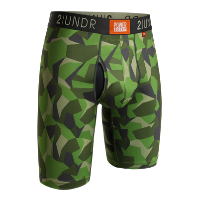Power Shift Long Leg - Green Camo