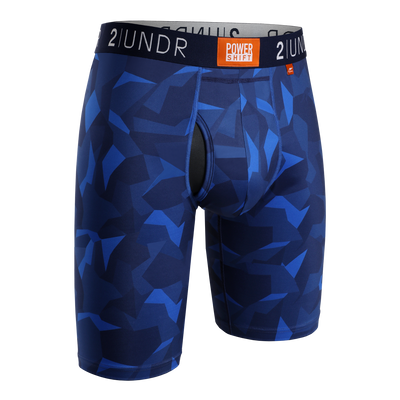 Power Shift Long Leg - Blue Camo