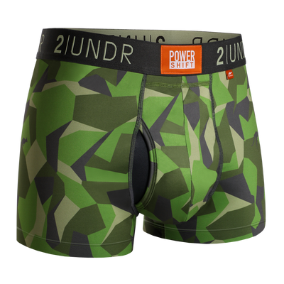 Power Shift Trunk - Green Camo