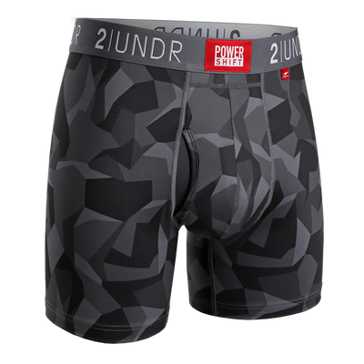Power Shift Boxer Brief - Black Camo