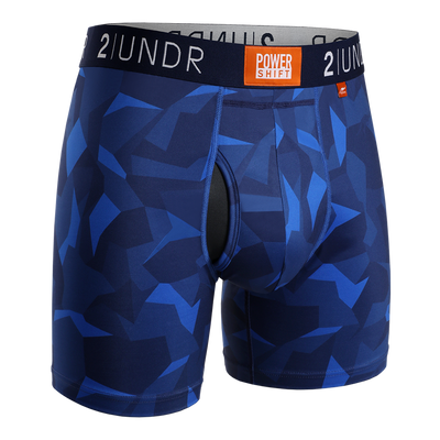 Power Shift Boxer Brief - Blue Camo
