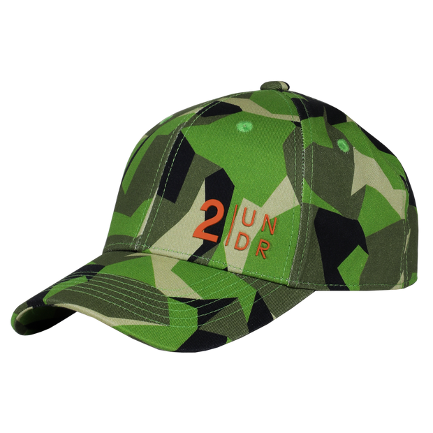 Snap Back Full Print Hat - Green Camo