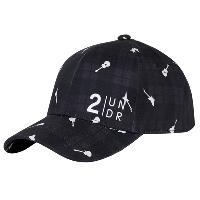 Snap Back Full Print Hat - Rockin Plaid