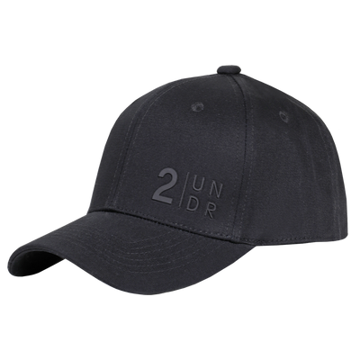 Snap Back Solid Hat - Black