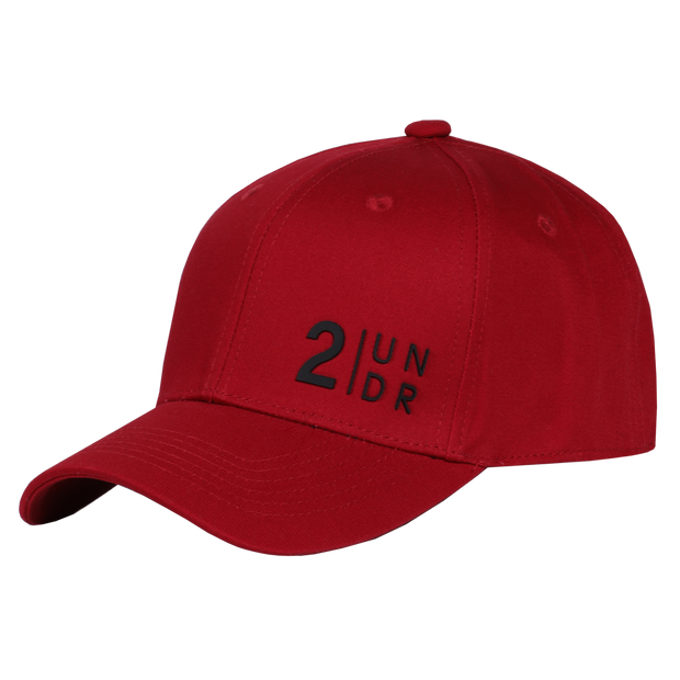 Snap Back Solid Hat - Red