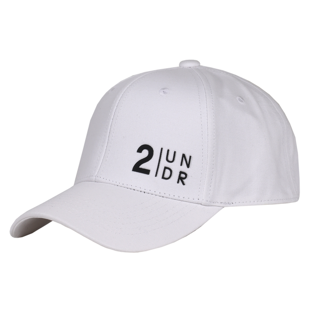 Snap Back Solid Hat - White