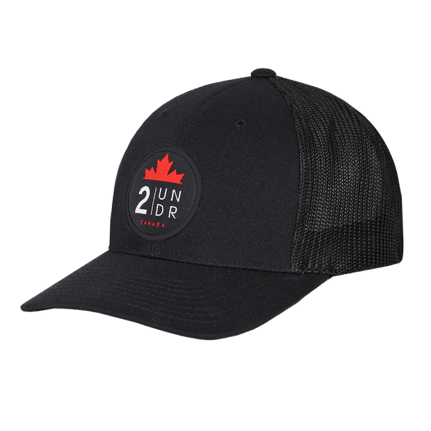 Snap Back Mesh Solid Hat - Team Canada