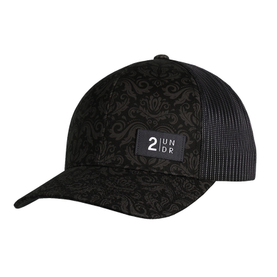 Snap Back Print Hat - Rococo