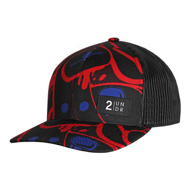 Snap Back Print Hat - Bella Rock