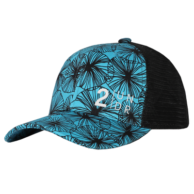 Snap Back  Mesh Print Hat - Bloomers