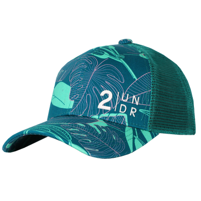 Snap Back  Mesh Print Hat - Jungle