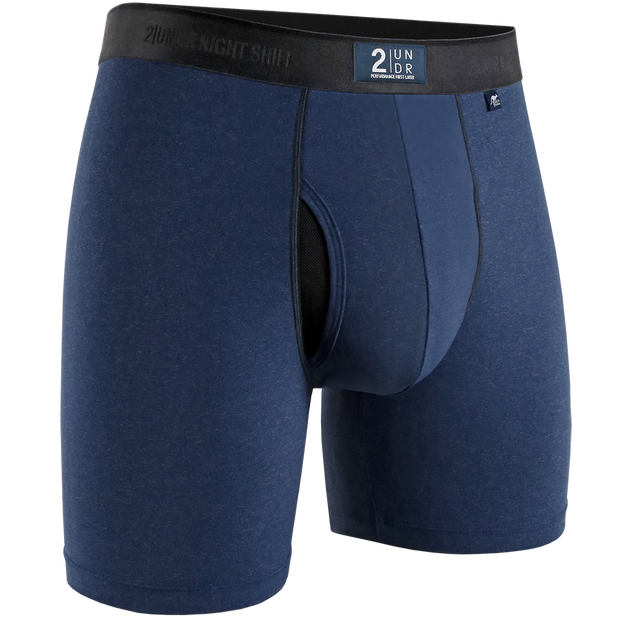 Night Shift Boxer Brief - Navy