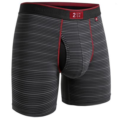 Night Shift Boxer Brief - Black Line