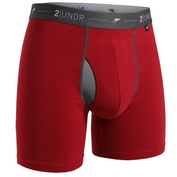 Day Shift Boxer Brief - Red