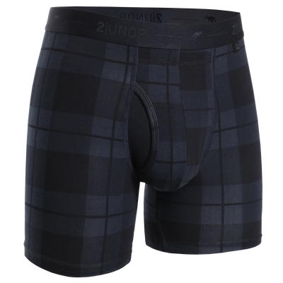Day Shift Boxer Brief - Stealth Plaid