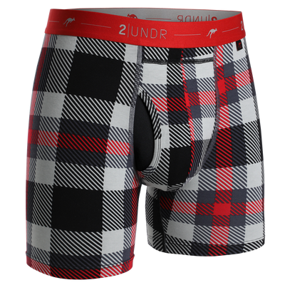 Day Shift Boxer Brief - Mac Plaid