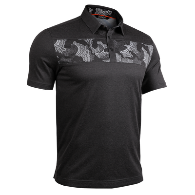 Short Sleeve Polo - Magnum IP - Tsunami/Charcoal