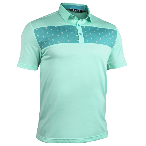 Short Sleeve Polo - Magnum IP - Margaritas/Lime